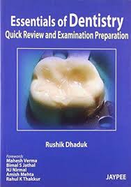 Essentials of Dentistry: Quick Review and Examination Preparation