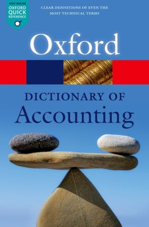 A Dictionary of Accounting 5/e