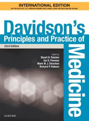 Davidson's Principles and Practice of Medicine International Edition, 23rd Edition - ABC Books