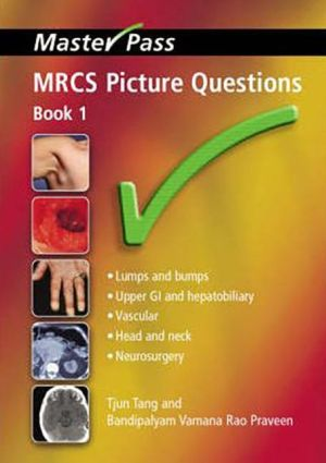 MasterPass: MRCS Picture Questions Book 1 - ABC Books