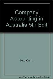 Company Accounting in Australia, 5e