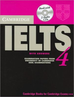Cambridge IELTS 4: Student's Book with answers and Audio CD - ABC Books