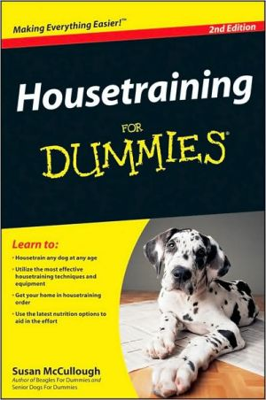 Housetraining For Dummies 2e - ABC Books