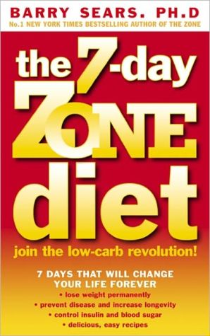 7 Day Zone Diet - ABC Books