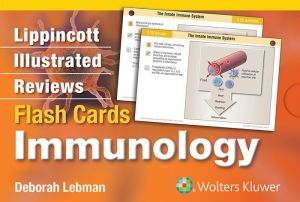 Lippincott Illustrated Reviews Flash Cards: Immunology - ABC Books