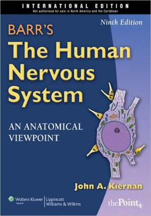 Barr's the Human Nervous System: An Anatomical Viewpoint, International Edition, 9e - ABC Books