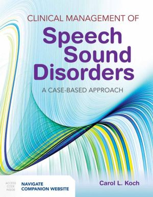 Clinical Management of Speech Sound Disorders - ABC Books