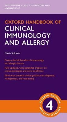 Oxford Handbook of Clinical Immunology and Allergy 4/e