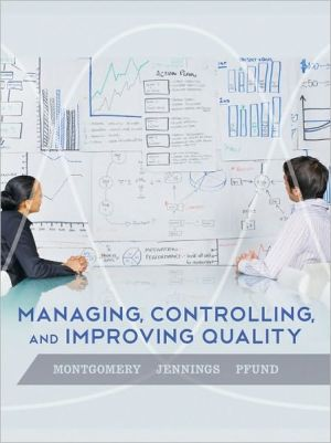 Managing Controlling and Improving Quality (WSE) - ABC Books
