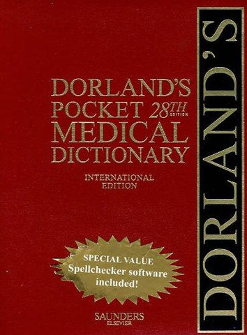 Dorland's Pocket Medical Dictionary 28e ** - ABC Books