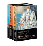 The Norton Anthology of English Literature - 3 volume set: A B &