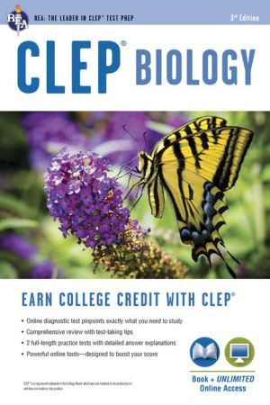 CLEP Biology with Access Code,3e