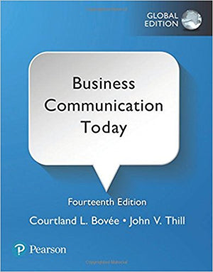 Business Communication Today, Global Edition, 14e - ABC Books