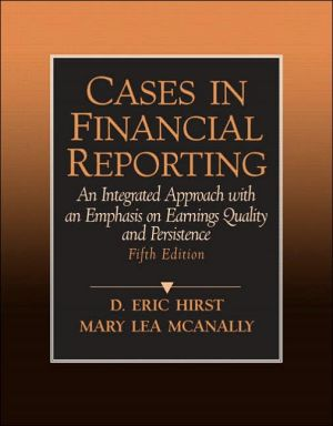 Cases In Financial Reporting Revised Edition
