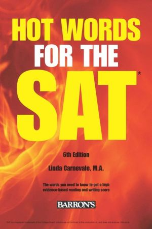 Hot Words for the SAT Ed, 6th Edition - ABC Books