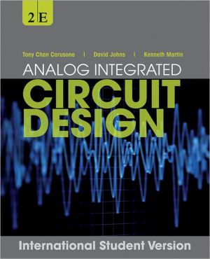 Analog Integrated Circuit Design 2e International Student Version WIE - ABC Books