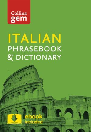 Collins Gem Italian Phrasebook and Dictionary - ABC Books