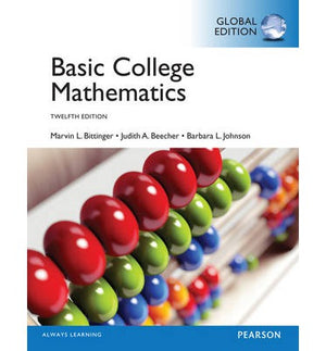 Basic College Mathematics, Global Edition, 12e