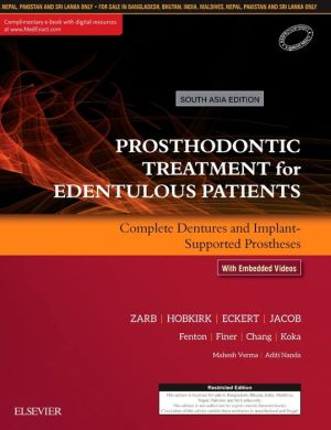 Prosthodontic Treatment for Edentulous Patients: Complete Dentures and Implant-Supported Prostheses, 13th - ABC Books