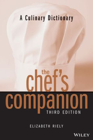 The Chef's Companion: A Culinary Dictionary, 3rd Edition - ABC Books