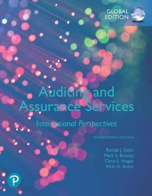Auditing and Assurance Services, Global Edition, 17e