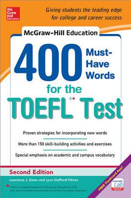 McGraw-Hill's 400 Must-Have Words for The TOEFL, 2E - ABC Books