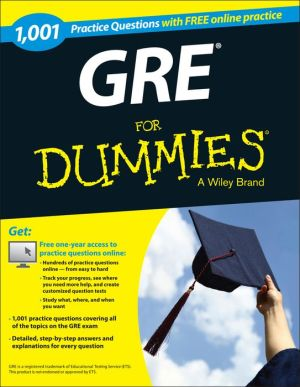 1,001 GRE Practice Questions For Dummies (+ Free Online Practice) - ABC Books