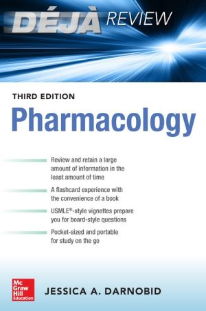 Deja Review: Pharmacology, 3e - ABC Books