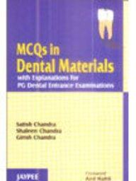 MCQs in Dental Materials with Explanations for PG Dental Entrance Examinations - ABC Books