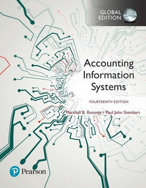Accounting Information Systems, Global Edition, 14e