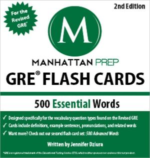 500 Essential Words: GRE Vocabulary Flash Cards, 2e - ABC Books