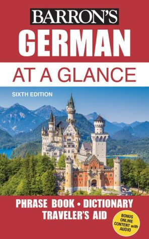 German at a Glance: Foreign Language Phrasebook & Dictionary - ABC Books