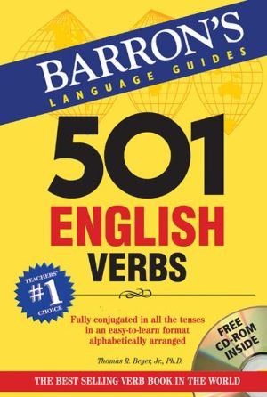501 English Verbs [With CDROM] - ABC Books