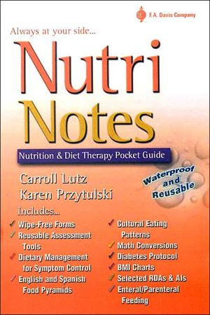 NutriNotes : Nutrition and Diet Therapy Pocket Guide (Davis' Notes) - ABC Books