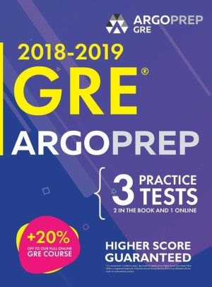 GRE by ArgoPrep: GRE Prep 2018 + 14 Days Online Comprehensive Prep Included + Videos + Practice Tests | GRE Book 2018-2019 | - ABC Books