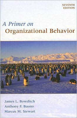 A Primer on Organizational Behaviour 7e WSE - ABC Books