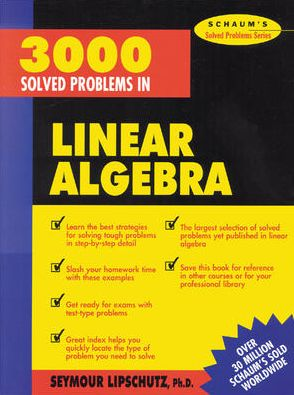 3,000 Solved Problems in Linear Algebra - ABC Books