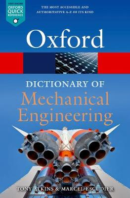 A Dictionary of Mechanical Engineering, 2e