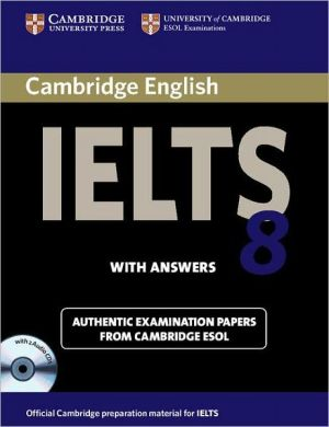 Cambridge IELTS 8: Student's Book with answers and Audio CD - ABC Books