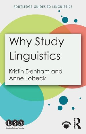 Why Study Linguistics