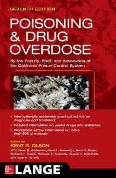 Poisoning And Drug Overdose 7e - ABC Books