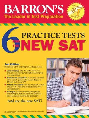 Barron's 6 Practice Tests for the New SAT - ABC Books