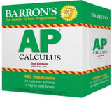 Barron's AP Calculus Flash Cards, 3e