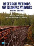 Research Methods for Business Students, 8e