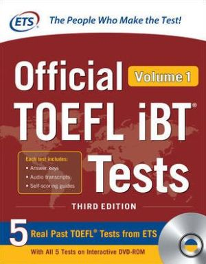 Official TOEFL iBT Tests Volume 1, 3rd Edition - ABC Books