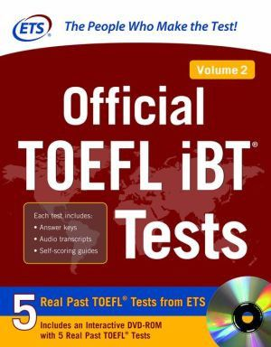 Official Toefl Ibt Tests Volume 2 - ABC Books