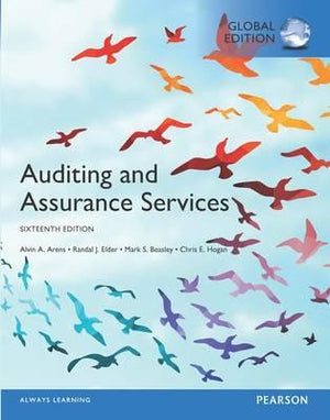 Auditing and Assurance Services, Global Edition, 16e