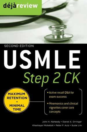 Deja Review USMLE Step 2CK, 2e **