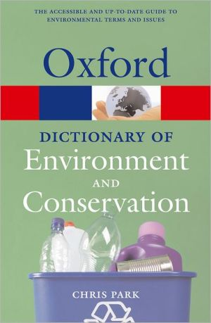 A Dictionary of Environment and Conservation - ABC Books