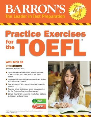 Practice Exercises for the TOEFL with MP3 CD, 8th Edition - ABC Books